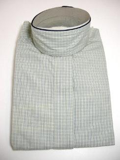 Pale Horse Childs Long Sleeve Cotton Show Shirt<font color=#000080>- Size:  10  Color:  greenblue microcheck</font> Best Price