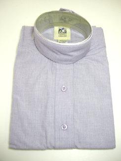 Pale Horse Childs Long Sleeve Cotton Show Shirt<font color=#000080>- Size:  12  Color:  Lt Purple</font> Best Price