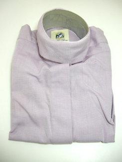 Pale Horse Childs Long Sleeve Cotton Show Shirt<font color=#000080>- Size:  10  Color:  purple waffle</font> Best Price