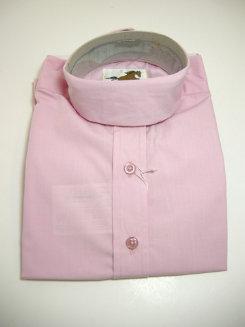Pale Horse Childs Short Sleeve Cotton Show Shirt<font color=#000080>- Size:  10  Color:  Pink</font> Best Price