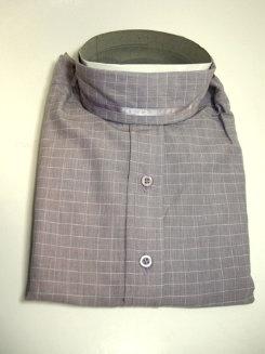 Pale Horse Childs Long Sleeve Cotton Show Shirt<font color=#000080>- Size:  12  Color:  Purple windowpane</font> Best Price