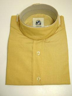 Pale Horse Childs Long Sleeve Cotton Show Shirt<font color=#000080>- Size:  12  Color:  Maize</font> Best Price