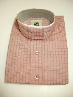 Pale Horse Childs Long Sleeve Cotton Show Shirt<font color=#000080>- Size:  12  Color:  Salmon Check</font> Best Price
