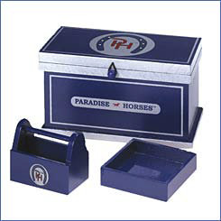 Paradise Horses Tack Trunk and Grooming Box Best Price
