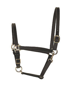 Perri's Leather Collection Leather Turnout Halter