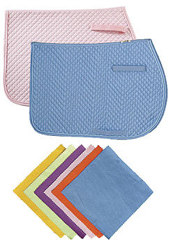 Perri's Leather A/P Quilted Saddle Pad