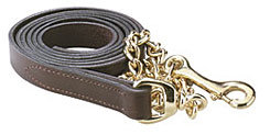 Perri's Leather Brass Plate Lead
