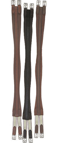 Perri's Leather Collection Leather Contour Girth