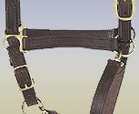 Perri's Leather Collection Economy Leather Halter