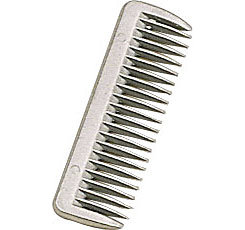 Perri's Leather Aluminum Pulling Comb
