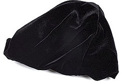 Perri's Leather Black Velvet Helmet Cover
