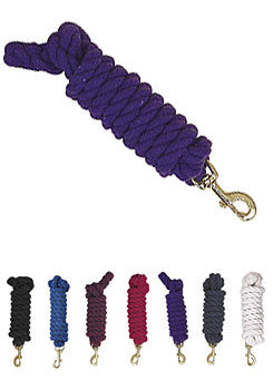 Perri's Leather Collection Heavy Duty Cotton Lead with Snap