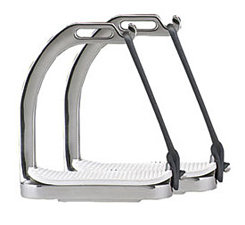 Perri's Stainless Steel Safety Stirrup Irons