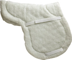 Perri's High Profile Fleece/Cotton Close Contact Saddle Pad Best Price
