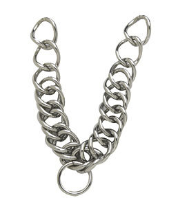 Perri's Leather Curb Chain English Style