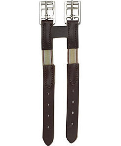 Perri's Leather Collection Leather Girth Extender with Elastic