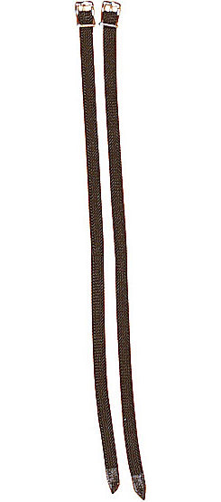 Perri's Leather Nylon Spur Straps