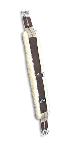 Professional's Choice Shearling English Girth<font color=#000080>-  Size:  42  Color:  Black</font> Best Price