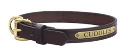 Perri's Custom Leather Dog Collar Best Price