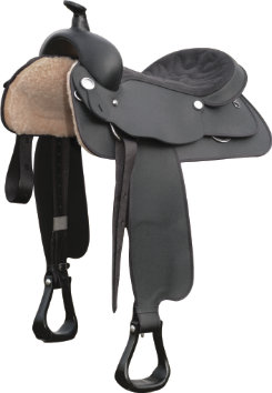 Wintec Full Quarter Horse Bars Synthetic Western Saddle Picture