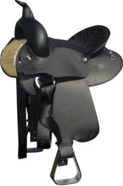 Wintec Youth Synthetic Western Saddle Picture