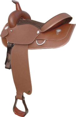 Wintec Synthetic Western Saddle Picture