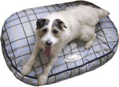 Lami-Cell Granite Plaid Dog Bed Best Price