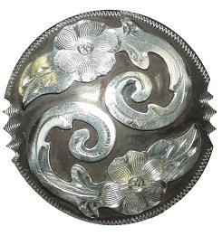 Metalab  Antique Floral Chicago Screw Concho Best Price