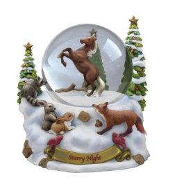 Breyer Starry Night Musical Snow Globe Best Price