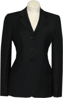 R.J. Classics Ladies Prestige Show Coat-Navy Herringbone Best Price