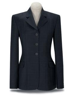 RJ Classics Girls Prestige Navy Plaid Show Coat Best Price