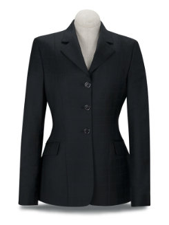 RJ Classics Girls Sterling Black Plaid Show Coat Best Price