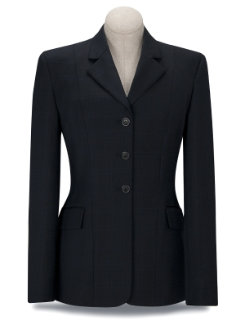 RJ Classics Girls Sterling Navy Plaid Show Coat<font color=#000080>- SIZE:  16 Regular  COLOR:  Navy Plaid</font> Best Price