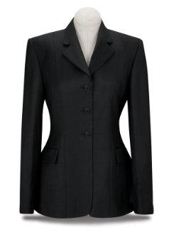 RJ Classics Ladies Essential Black Plaid Show Coat Best Price