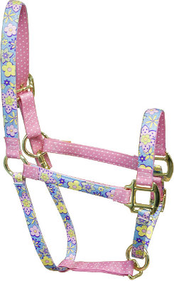High Fashion Horse Flower Prints Breakaway Halter Best Price
