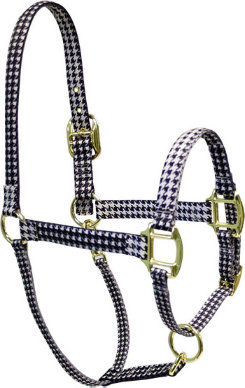 High Fashion Horse Houndstooth Breakaway Halter Best Price