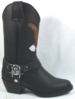 Smoky Mountain Youth/Teen Chopper Boots Best Price