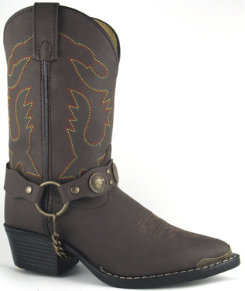 Smoky Mountain Kids Concho Harness Boots