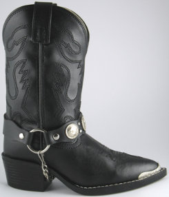 Smoky Mountain Youth/Teen Concho Harness Boots Best Price