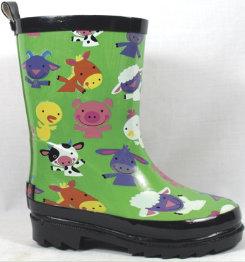 Smoky Mountain Kids Barnyard Rubber Boots Best Price
