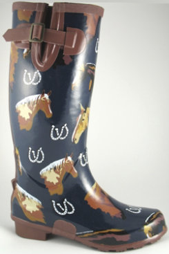 Smoky Mountain Ladies Palomino Rubber Boots
