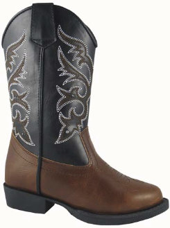Smoky Mountain Kids Austin Lights Boots without Zipper Best Price
