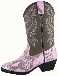 Smoky Mountain Youth/Teen Cody Snake Print Boots Best Price