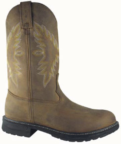 Smoky Mountain Mens Lamar Steel Toe Wellington Boots Best Price