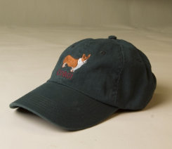 Stirrups Adult Corgi Embroidered Ball Cap Best Price