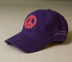 Stirrups Adult Peace Embroidered Ball Cap Best Price