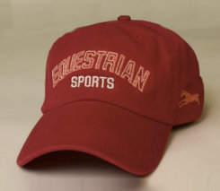 Stirrups Adult Equestrian Sports Embroidered Ball Cap Best Price