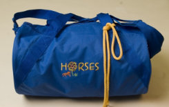 Stirrups Horse Flower Duffle Bag Best Price