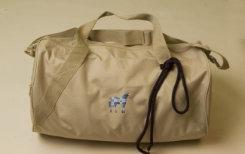 Stirrups Blue Plaid Horse Duffle Bag Best Price