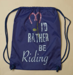 Stirrups I'd Rather Be Riding Cinch Backpack Best Price